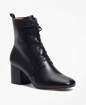 Brooks Brothers Lace-Up Leather Boots