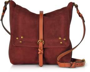 Jerome Dreyfuss Toni Suede Shoulder Bag