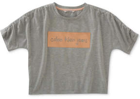 Calvin Klein Graphic-Print Knockout T-Shirt, Big Girls (7-16)