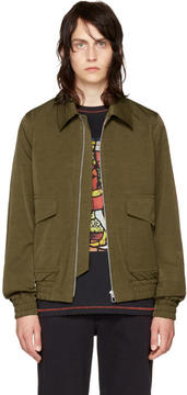 Paul Smith Khaki Flight Jacket