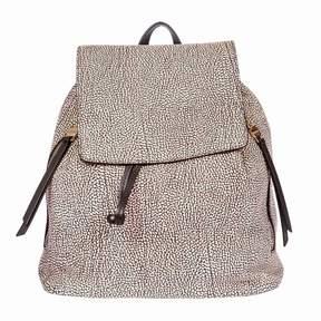 Borbonese Medium Leather Opla' Backpack