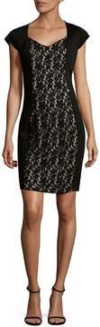 Alexia Admor Women's Floral Lace Sheath Dress