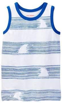 Joe Fresh Graphic Striped Tank (Little Boys & Big Boys)