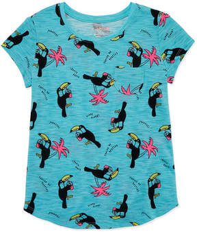 Arizona Short Sleeve Print Fave Tee - Girls' 4-16 & Plus