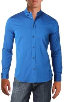 Marc by Marc Jacobs Mens Shrunken Fit Long Sleeve Button-Down Shirt