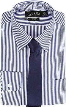 Lauren Ralph Lauren Lauren by Ralph Lauren Men's Bengal Stripe Spread Collar Classic Button Down Shirt Blue/White Button-up Shirt