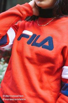 Fila Newton Striped Sweatshirt