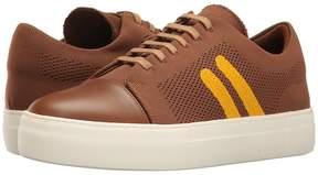 Neil Barrett Paint Stripe Techknit/Nappa Trainer Men's Shoes