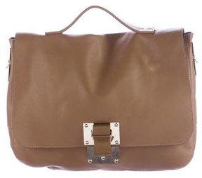 Sophie Hulme Leather Messenger Bag