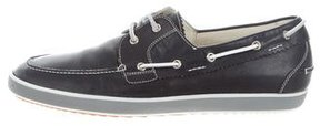 Fratelli Rossetti Leather Boat Shoes