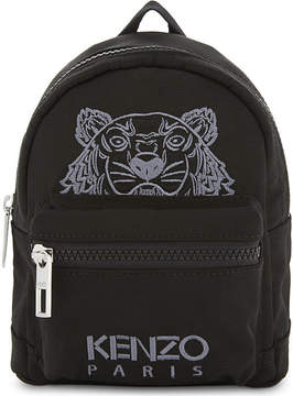 Kenzo Embroidered tiger mini backpack