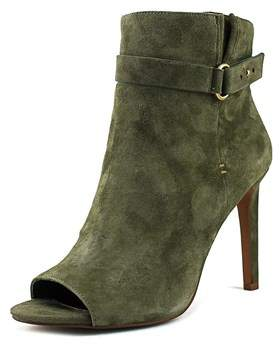 BCBGMAXAZRIA Bcbgeneration Womens Cassia Suede Open Toe Ankle Fashion Boots.