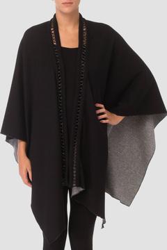Joseph Ribkoff Reversible Knit Shawl