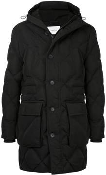 Cerruti button-down padded coat