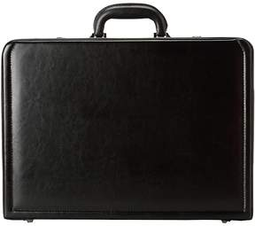 Kenneth Cole Reaction Manhattan Leather - 4-4.75 Expandable Computer Attache With Removable Computer Sleeve Luggage