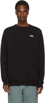 Off-White Black Basic Off Crewneck Sweatshirt