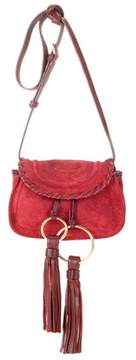See by Chloe Polly Mini suede shoulder bag