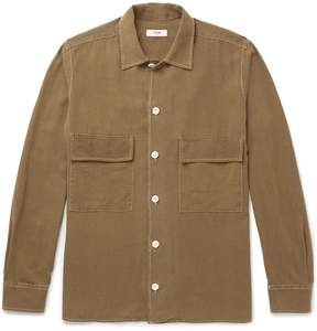 Cmmn Swdn Egon Brushed-Silk Shirt