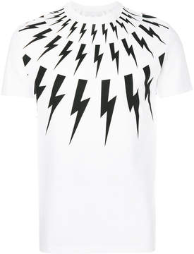 Neil Barrett Lightning Bolt T-shirt