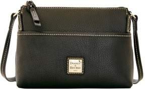 Dooney & Bourke Pebble Grain Ginger Pouchette Shoulder Bag - BLACK BLACK - STYLE