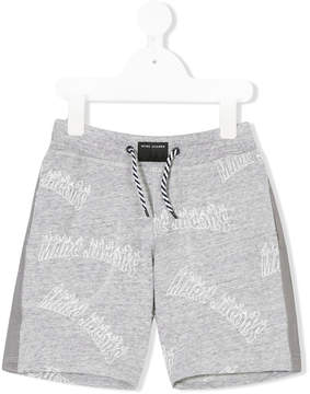 Little Marc Jacobs logo printed shorts