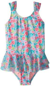 Hula Star Girls' Rose Tango One Piece Swimsuit (2T6X) - 8154266