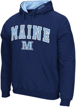 Colosseum Men's Maine Black Bears Arch Logo Hoodie