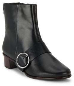 Tibi Felix Leather Ankle Boots