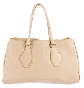 Jil Sander Pebbled Leather Tote