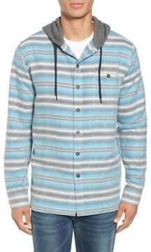 Billabong Men's Baja Hooded Flannel Shirt