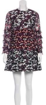 Giamba Patterned Mini Dress