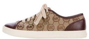 Michael Kors Monogram Low-Top Sneakers