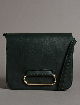 Marks and Spencer Leather Cross Body Bag
