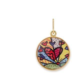 Alex and Ani A New Day Art Infusion Necklace Charm | Romero Britto