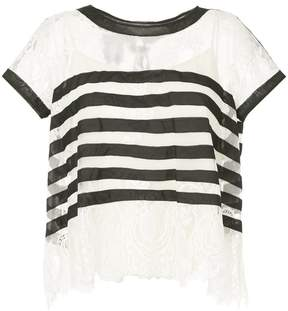 Edward Achour Paris striped T-shirt