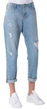 Big Star Helix Cropped Boyfriend Jeans