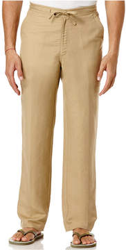 Cubavera Big and Tall Drawstring Linen-Blend 32 Length Pants