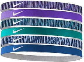 Nike 6-pk. Solid & Striped Headband Set