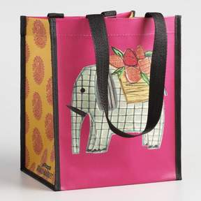 World Market Small Elephant and Paisley Totes Set of 2