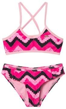 O'Neill Pink Active Top Bikini