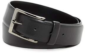 HUGO BOSS Saffiano Leather Belt