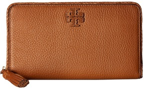 Tory Burch Taylor Zip Continental Wallet Wallet Handbags - BLACK - STYLE