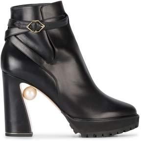 Nicholas Kirkwood Annabel Pearl platform boots