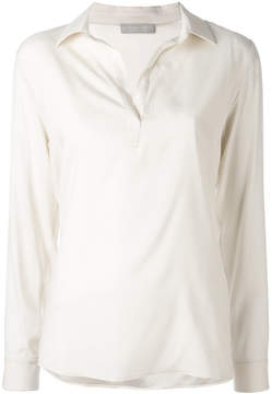 Le Tricot Perugia v-neck blouse