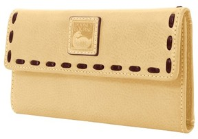 Dooney & Bourke Florentine Continental Clutch Wallet - BONE - STYLE