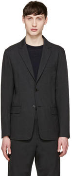 TOMORROWLAND Grey Tropical Wool Blazer