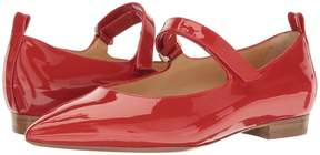 a. testoni Pointed Toe Strapped Flat