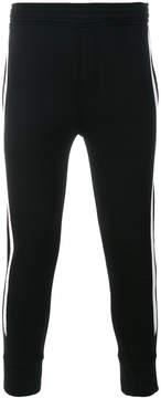 Neil Barrett striped side track pants