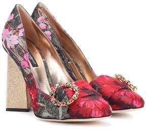 Dolce & Gabbana Brocade pumps