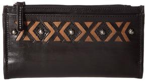 American West Folded Wallet Wallet Handbags